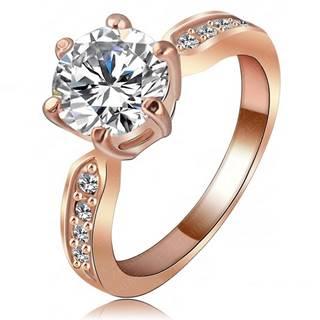 Prsteň Kate Princess - Zlatá/ 51mm
