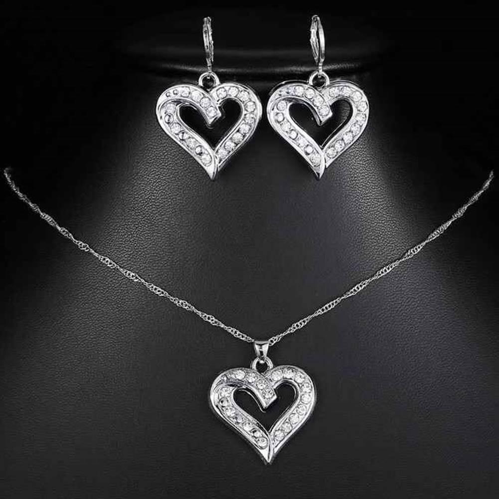 Izmael Set Silver Heart-Strieborná