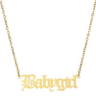 Náhrdelník BabyGirl-Zlatá