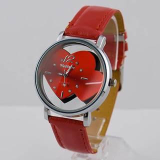 Hodinky WoMaGe LOVER - Červená
