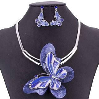 Set Papillon Consort-Modrá