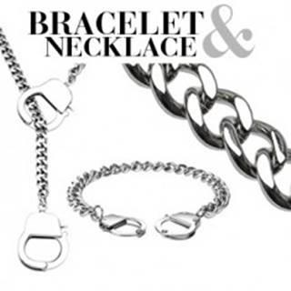 Retiazkový set - náramok a náhrdelník s putami
