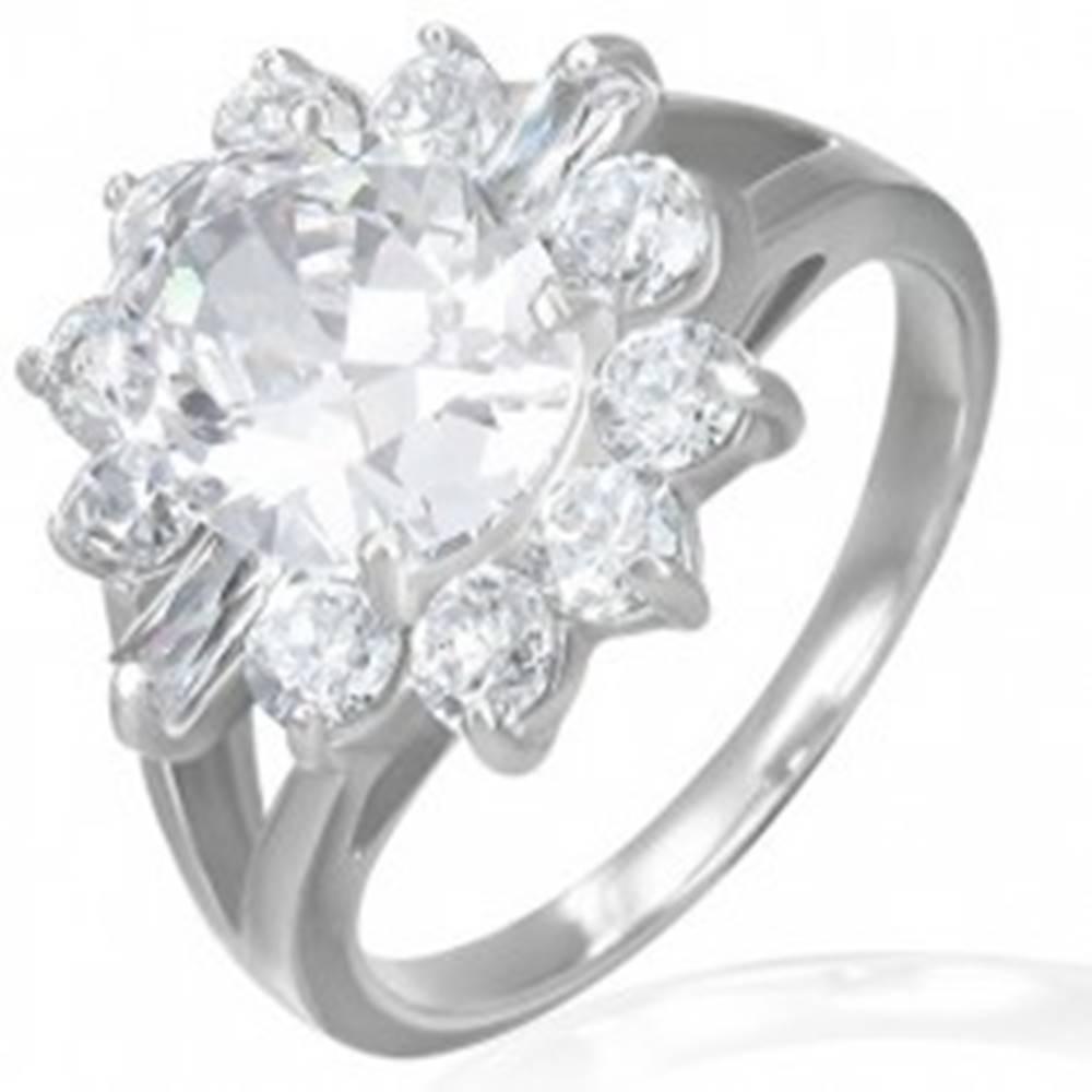 Zásnubný prsteň - mohutný z...