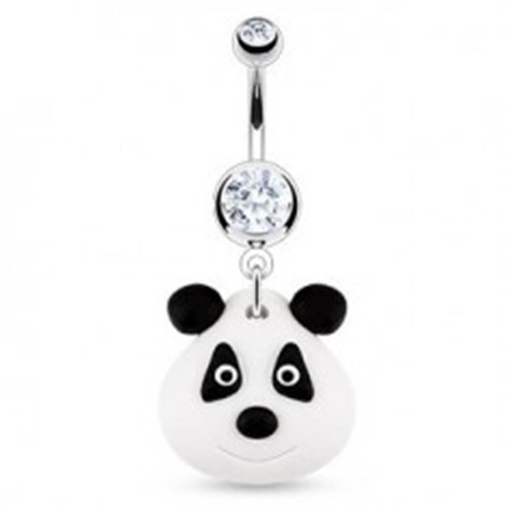 Šperky eshop Piercing do pupka - FIMO panda