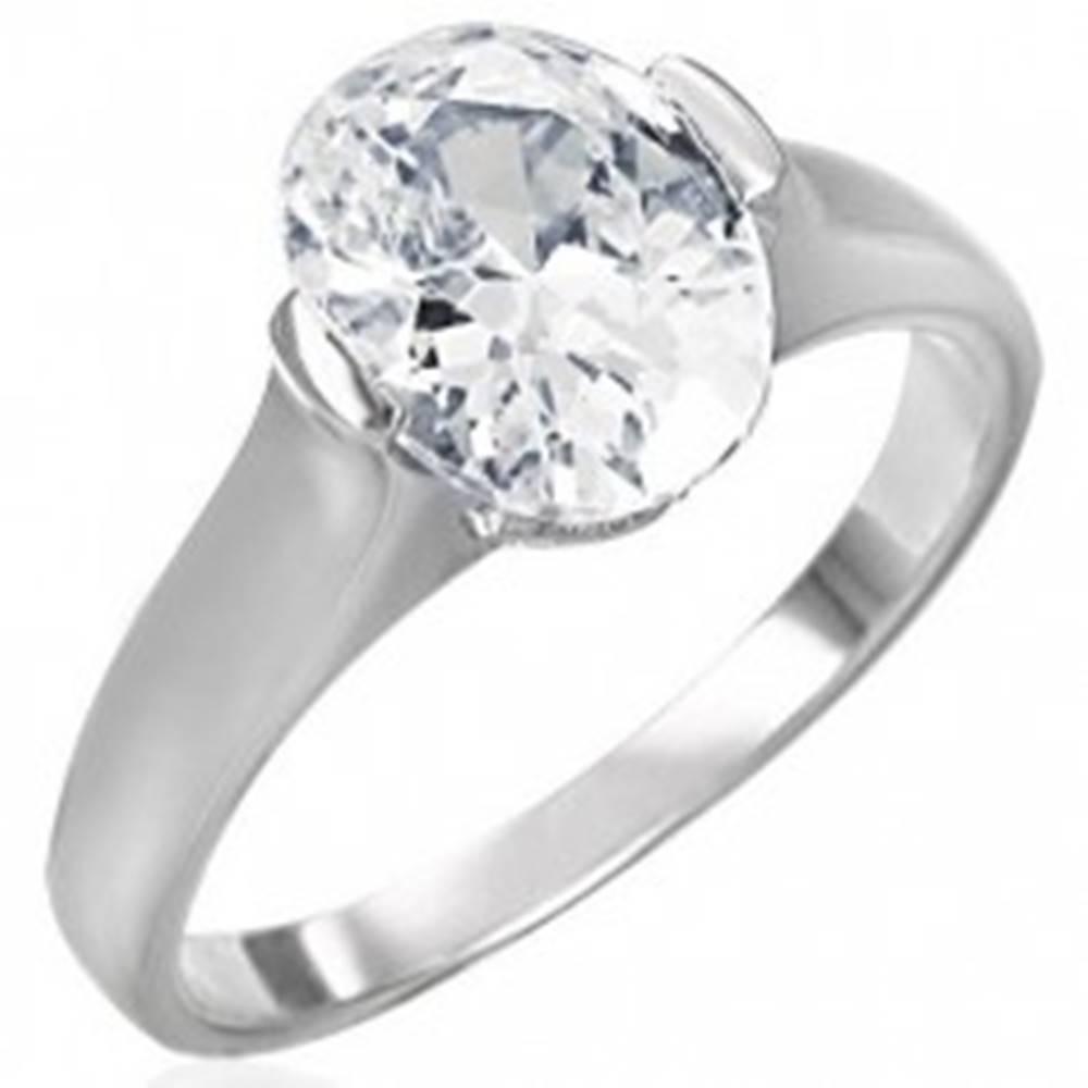 Snubný prsteň s čírym veľký...