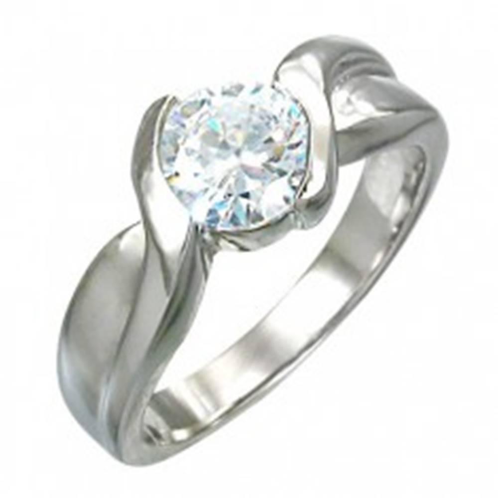 Zásnubný prsteň prepletaný ...