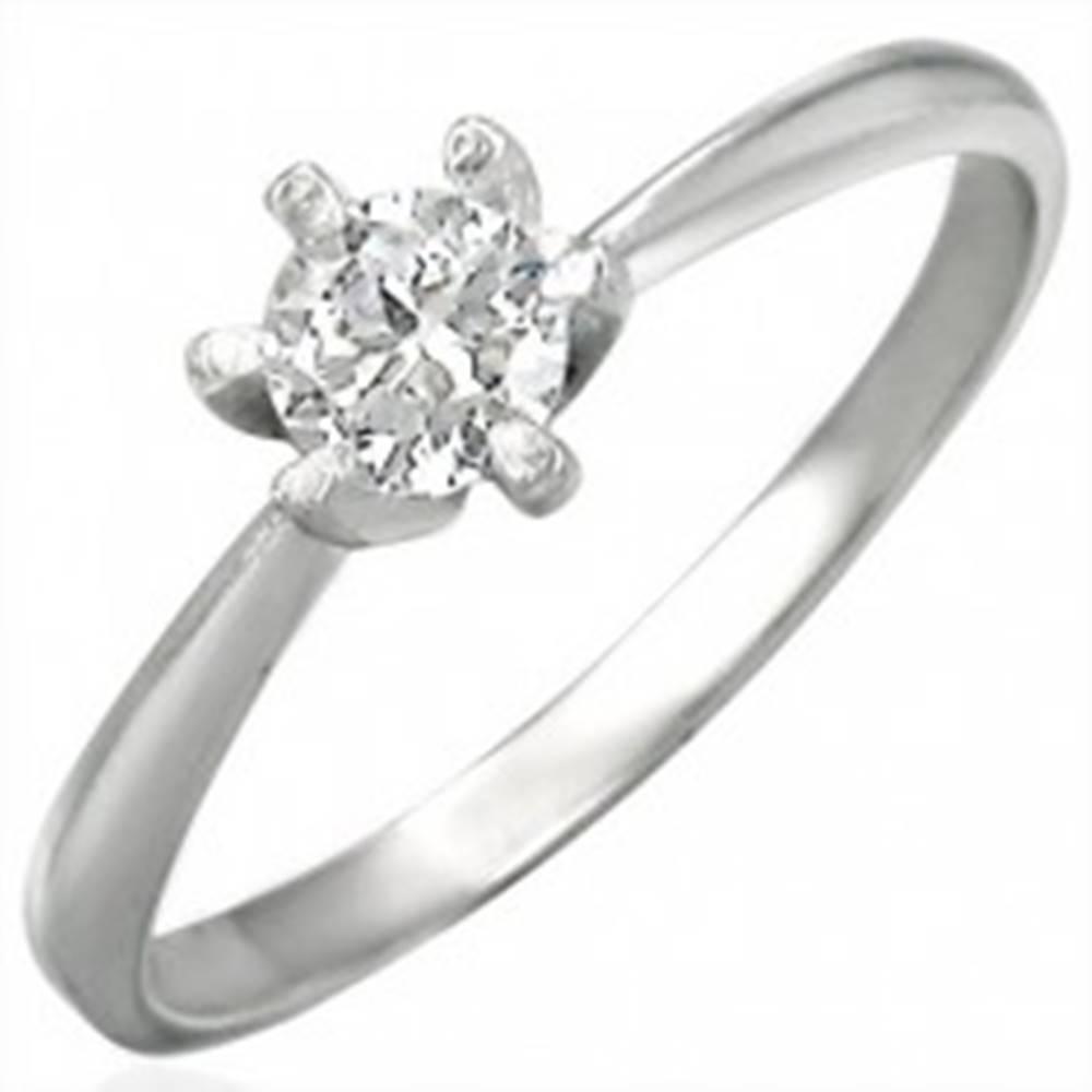 Zásnubný prsteň z ocele 316...