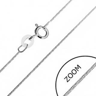 Retiazka zo striebra 925 - paličkové články, 0,5 mm
