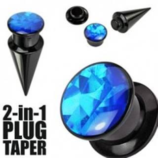 Expander a plug 2-in-1 čierny - Hrúbka: 10 mm
