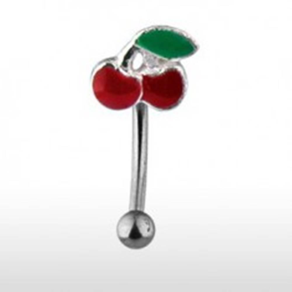 Šperky eshop Piercing do obočia - čerešničky