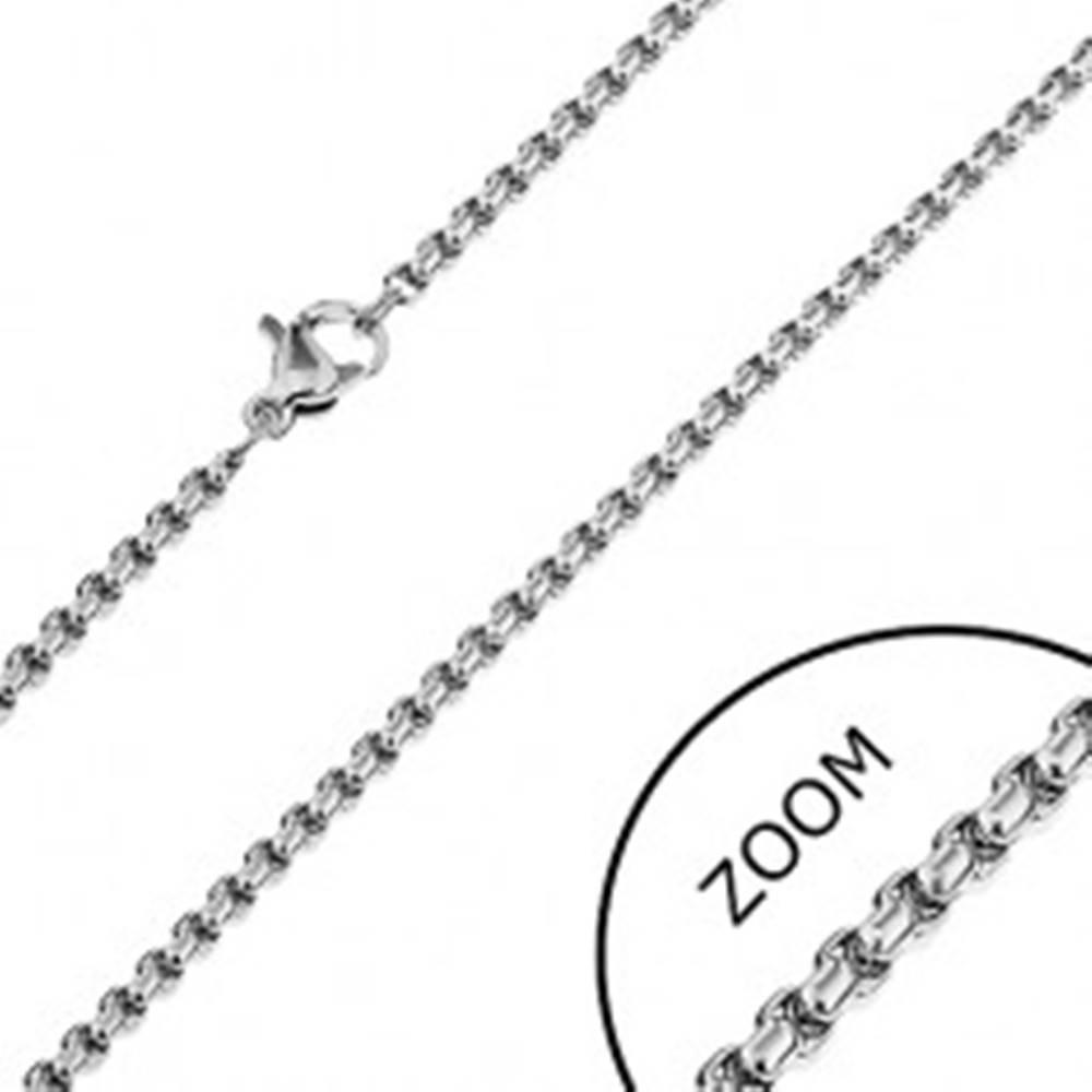 Šperky eshop Retiazka z nehrdzavejúcej ocele - lesklý had