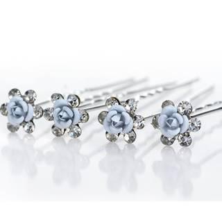 Vlásenka Blue Crystal Flower