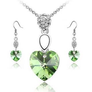 Set HEART - Zelená