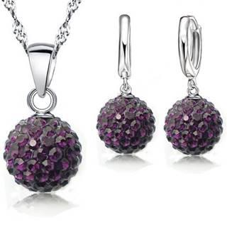 Set Sparkling SHAMBALLA - Tmavo fialová