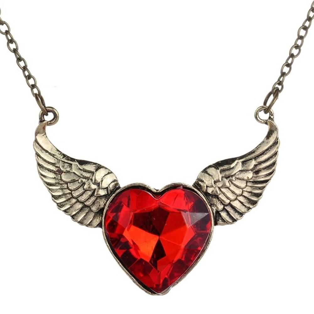 Izmael Náhrdelník Heart Wings