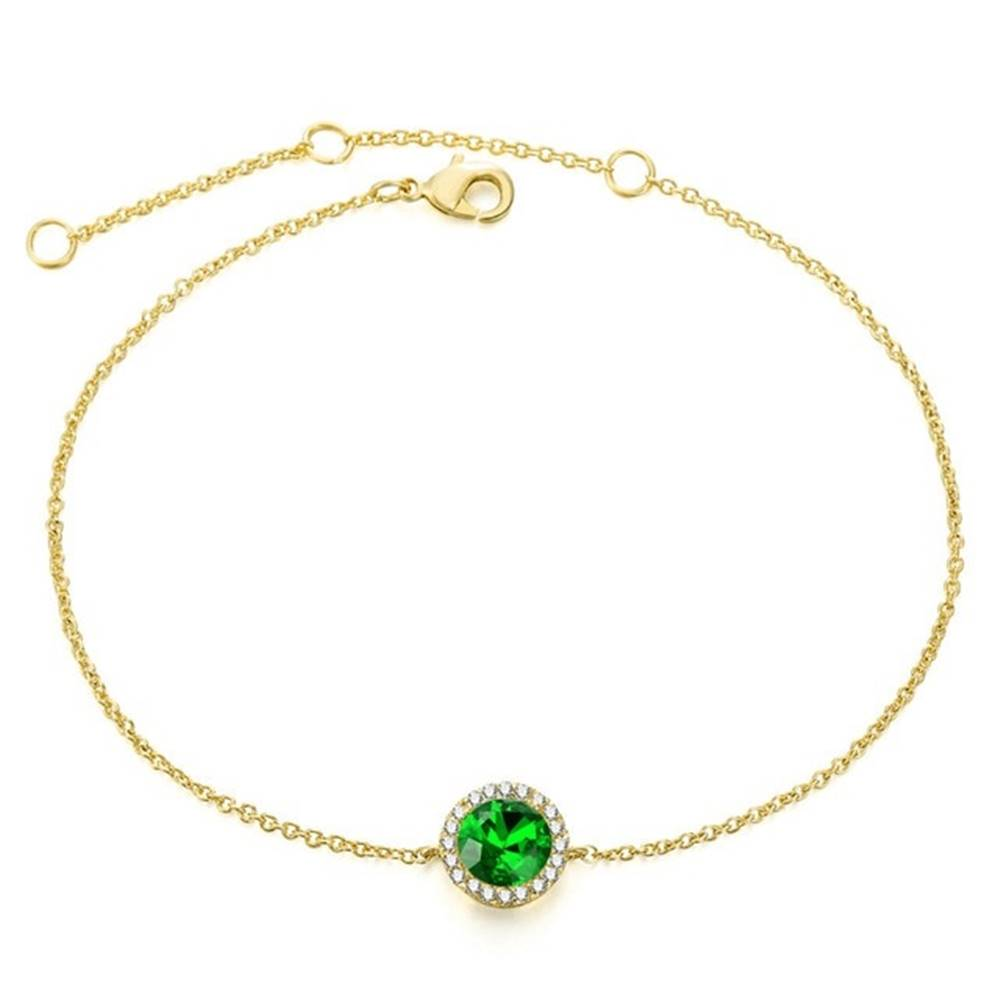 Izmael Náramok Round-Zlatá/Zelená