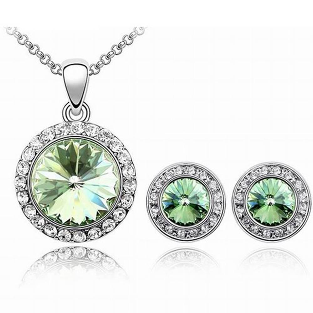 Izmael Set šperkov Blaze - Zelená