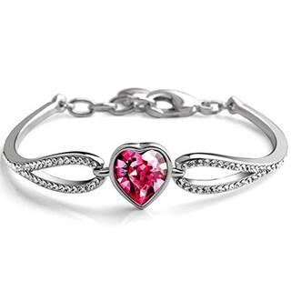 Náramok Heart-Ružová