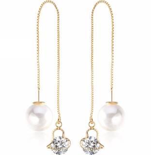 Náušnice Cute Pearl-Zlatá/Typ1