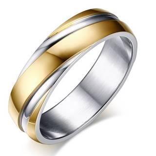 Prsteň Twist-Zlatá/49mm