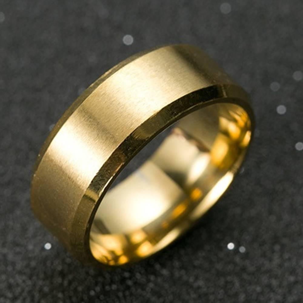 Izmael Prsteň Manlike-Zlatá/65mm