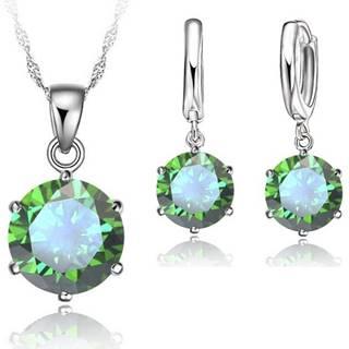 Sparkling Zircon - Zelená