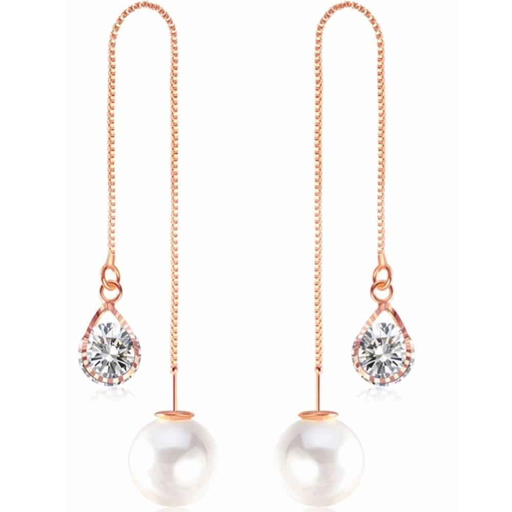 Izmael Náušnice Cute Pearl-Zlatá/Typ2