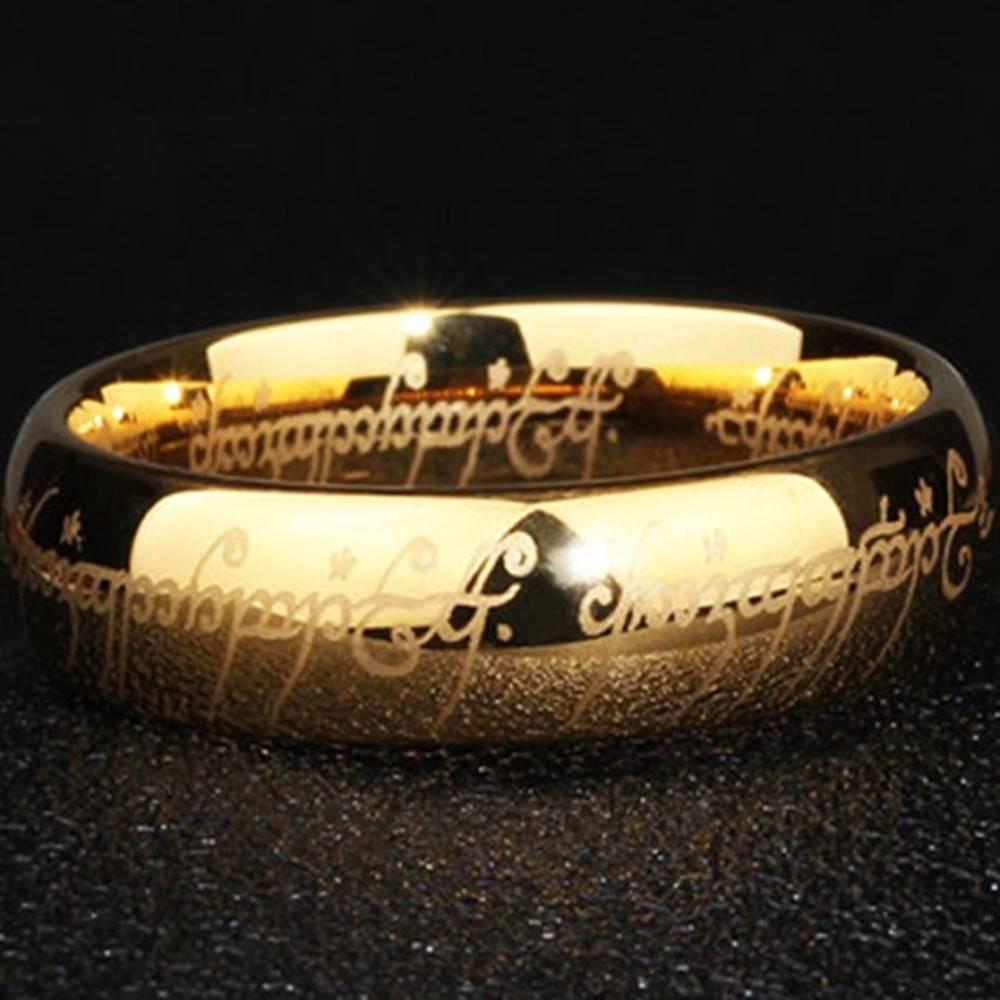 Izmael Prsteň Frodo-Zlatá/52mm